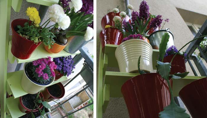 Blumentreppe   balkongestaltung   schoener balkon.de